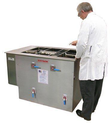 Cuve de nettoyage par ultrasons avec rinçage - UCR1500