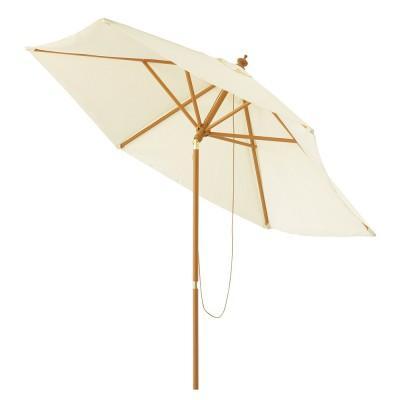 Location de parasol droit blanc - null