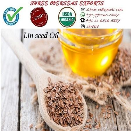 Organic Linseed Oil - USDA Organic