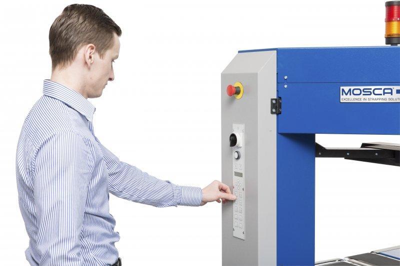Evolution SoniXs TRI-6 Base - Máquina totalmente automática para flejado en línea
