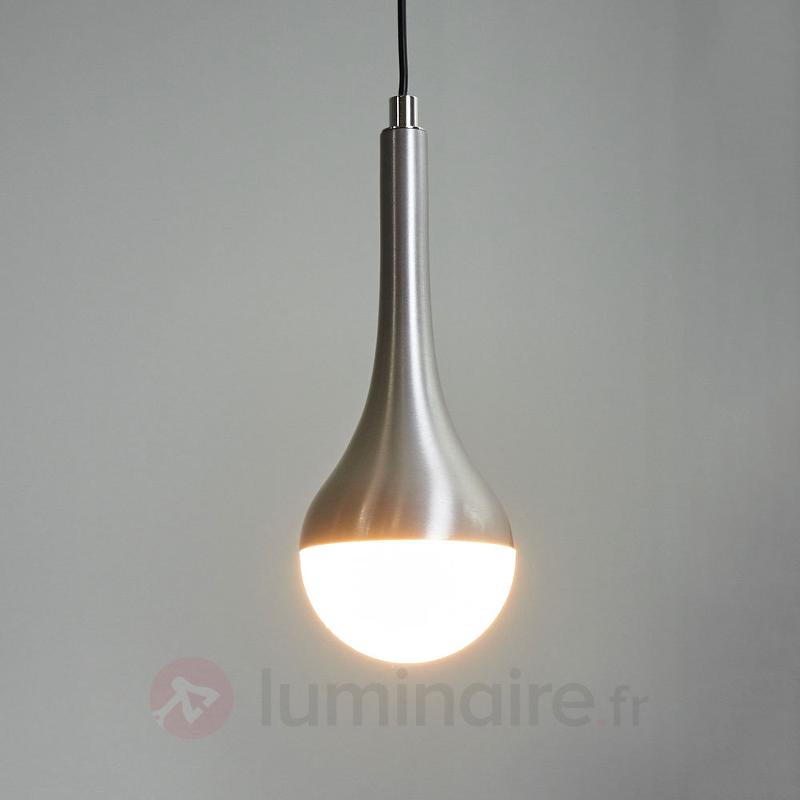 Suspension LED Drop à 1 lampe, blanc chaud - Suspensions LED