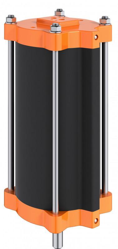 Cylindre linéaire pneumatique type SC - La série de vérin linéaire SC comprend 6 tailles.