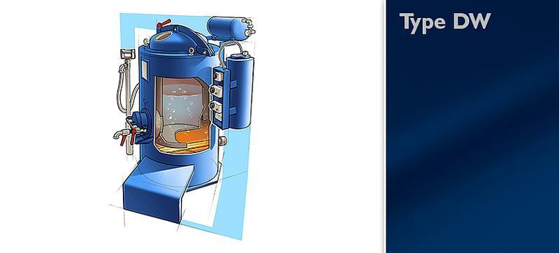 Distillation unit type DW - null