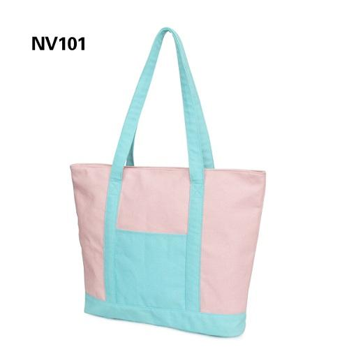 Biodegradable Cotton Tote Bag - 100% biodegradable cotton canvas custom design beach tote bag