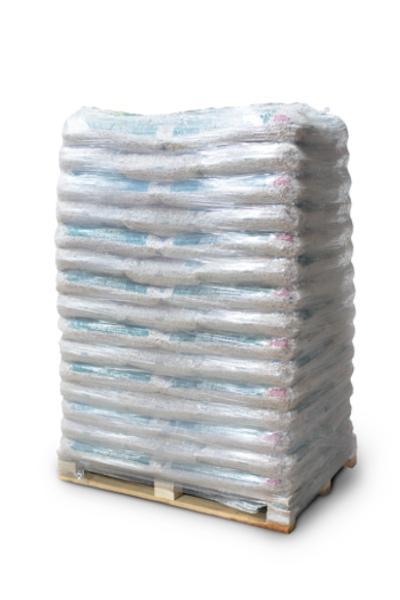 WOOD PELLETS - IN A PLASTIC BAG