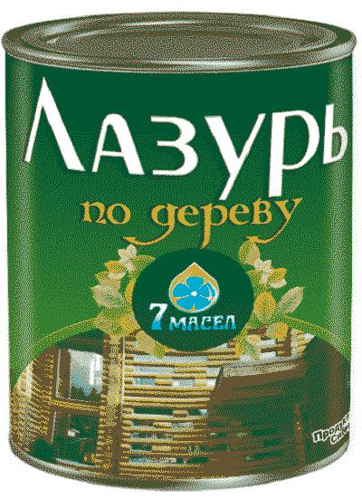 Масло для дерева - Масло на основе льна