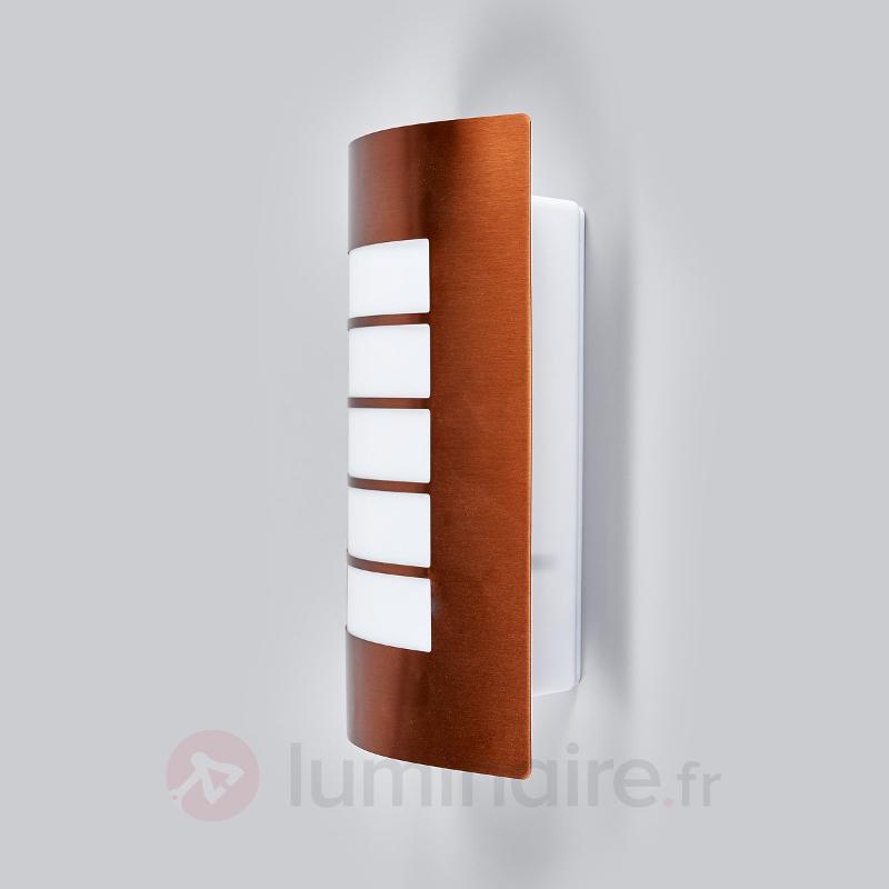 Applique extérieure couleur cuivre Blanka - Appliques d'extérieur inox