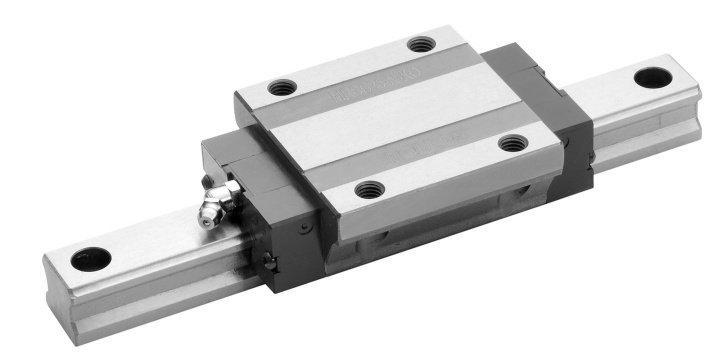 Mono Rail - Re-circulating ball profiled linear rails with high load capacity