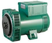 Alternateur basse tension pour groupe électrogène - LSA 44.3 - 4 pôles - Monophasé 57 - 125 kVA/kW