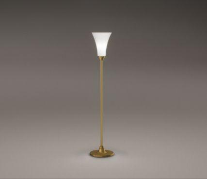 French art deco floor lamp
