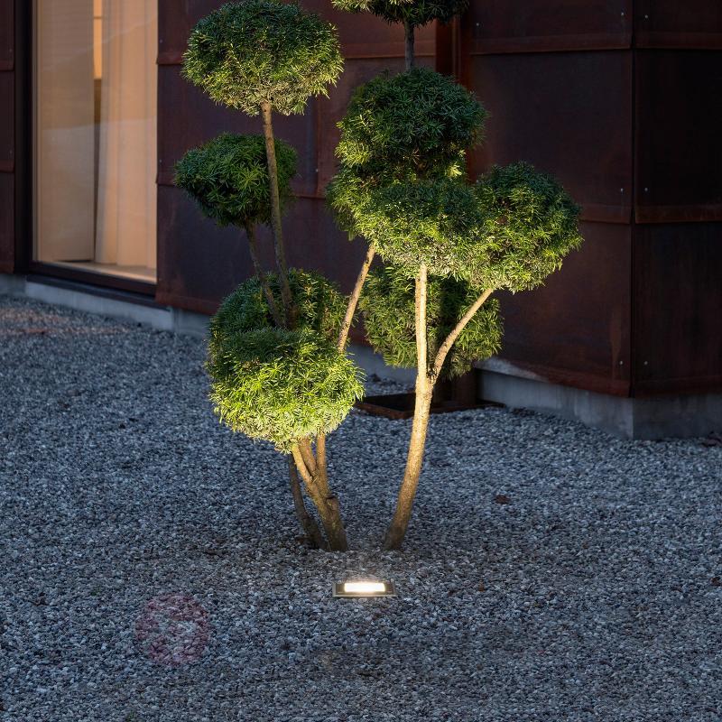 Dale spot de sol LED 9 W capteur crépusculaire - Luminaires LED encastrés au sol