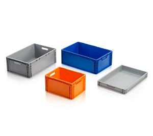 Euro containers - also ESD version or perforated