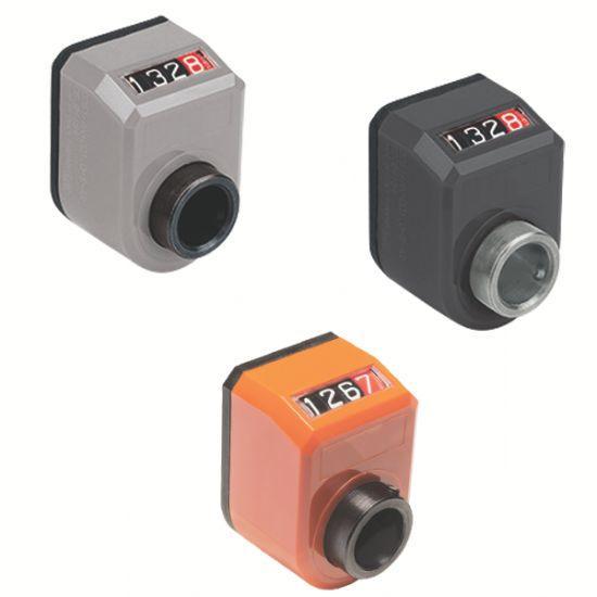Indicateur de position digital - à 4 chiffres, avec insert acier ou inox