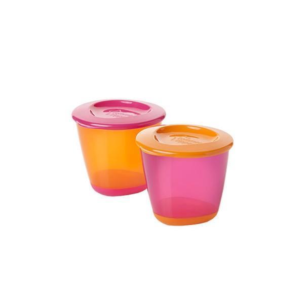 Pots de Sevrage Pop Up Tommee Tippee (2 pièces) - null