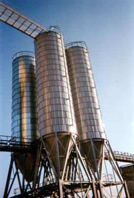 Silo de stockage tout produit - AGC Italie