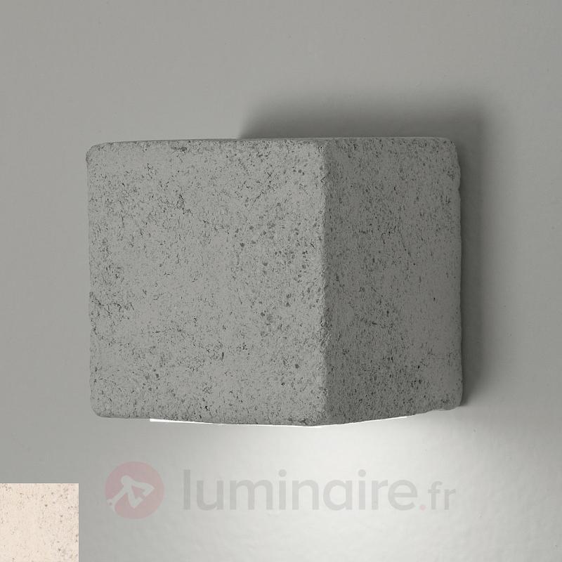 Applique d'extérieur LED Smith cubique - Appliques d'extérieur LED