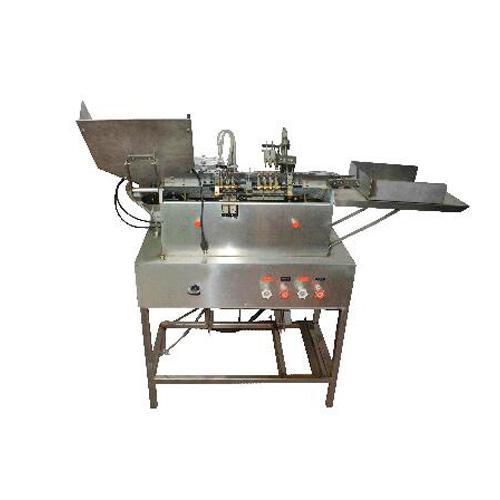 ampoule remplissant la machine de cachetage - machines pharmaceutiques, double buse d'injection, fabrication d'ampoule de porc