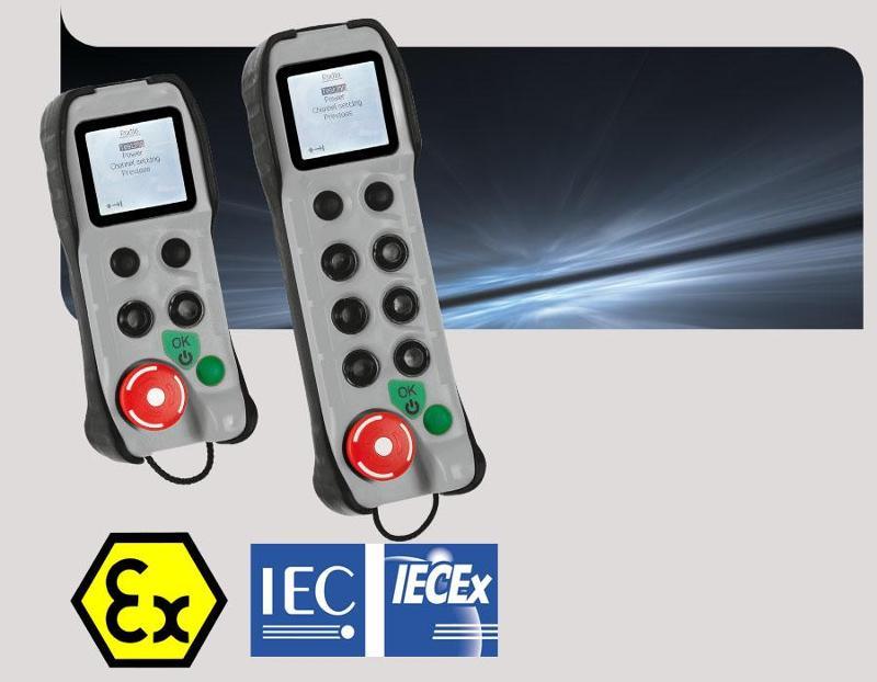 Bidirectional radio remote control ATEX IECEx