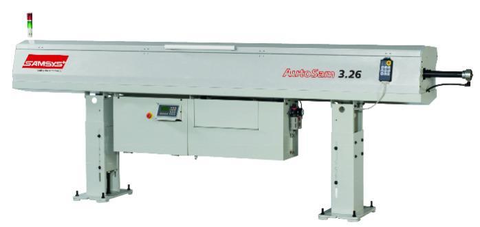 Bar Feeders for Machine Tools - Autosam-3.26