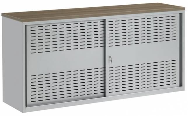 Armoires métalliques à portes coulissantes - Armoires et caissons métalliques