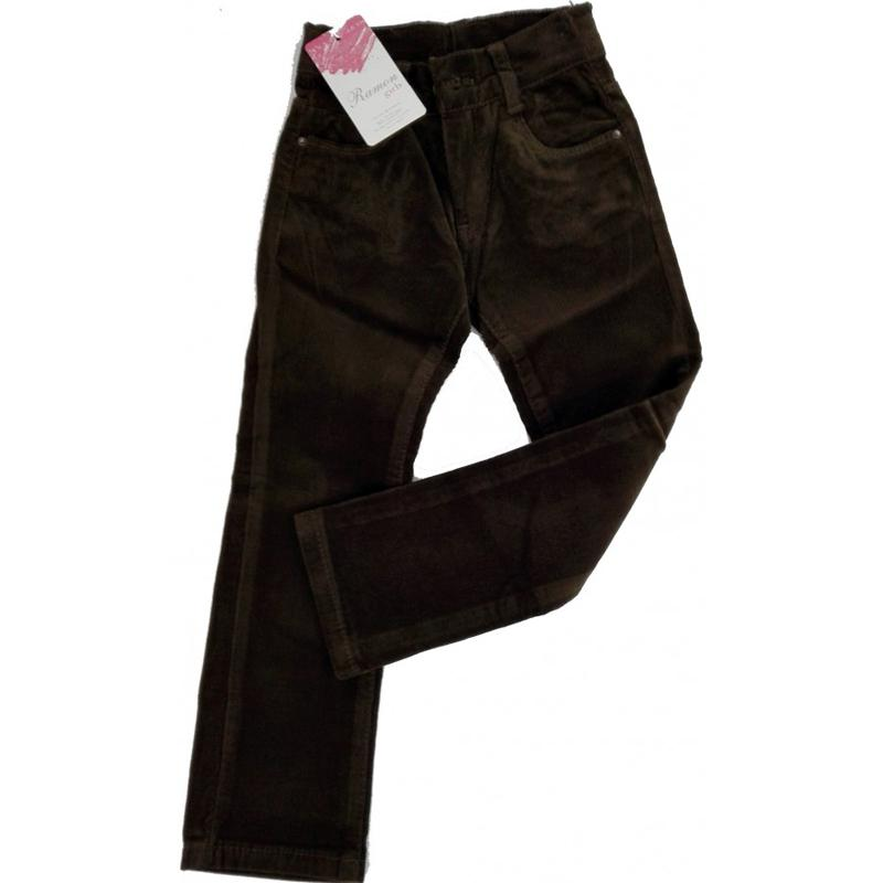 5-8 Yaş Kız Kadife Pantolon