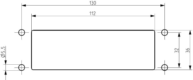 KES 17/24 GR | Schraubbefestigung - null