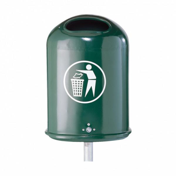 Litter bins - Litter bins for fixing on walls or posts