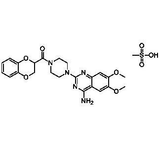 Doxazosin Mesylat - Doxazosin Mesylat; Wirkstoff; EP; [77883-43-3]