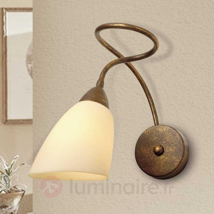 Applique Alessandro brun antique - Appliques rustiques