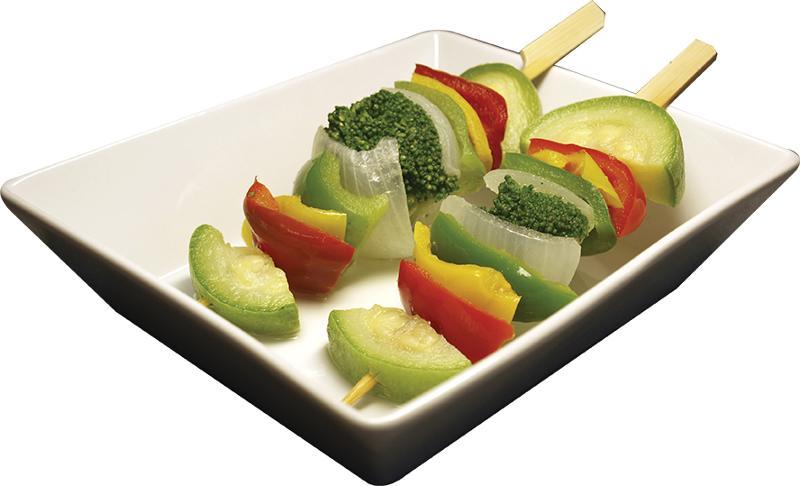 Brochettes De Légumes - null
