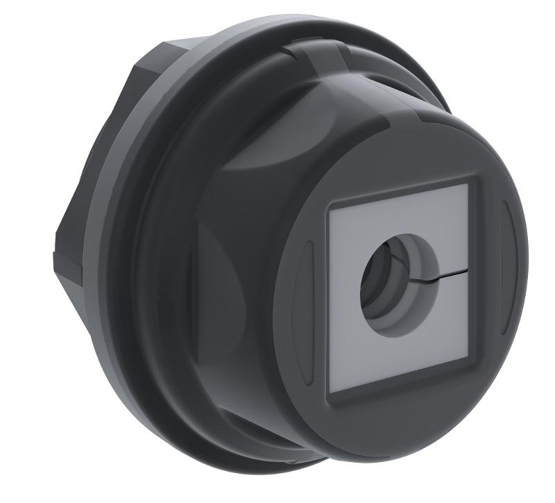 KDS-R 20-32 BK | Rundrahmen - null