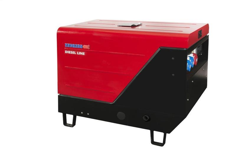 POWER GENERATOR for Professional users - ESE 1006 DLS-GT ES ISO Diesel