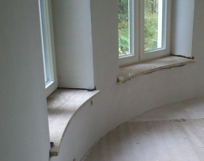 Fensterbänke - Granit, Marmor, Sandstein, Schiefer, Kalkstein, Travertin