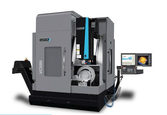 5-Axis-Machining-Center with trunnion table- VC 500i - 5-axis trunnion table eases 5-sided machining.