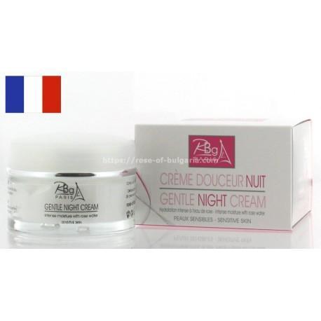 Crème de nuit structurante à l'eau de rose - Rbg Paris