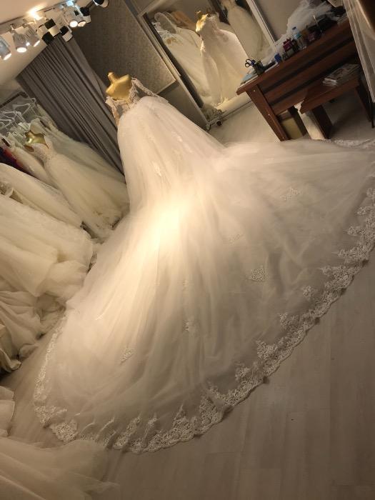 Robe de mariée sirène  - Robe de mariée sirène avec sur jupe