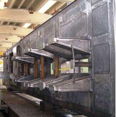 Turbokompressor Basisplatten für Bohrwerke