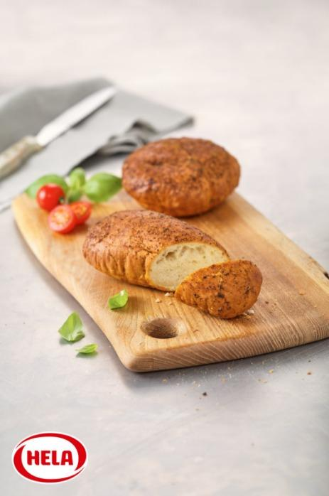 Hela bread topping tomato basil, fruity, slightly acidic - Oil-based seasoning marinades to spread on bread and pastries