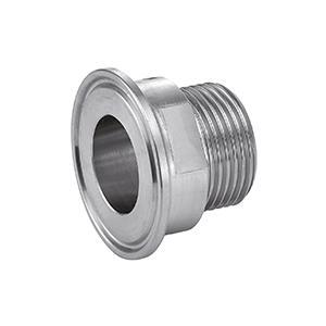 FERRULE CLAMP FILETAGE BSPP - Inox 316L (63430)
