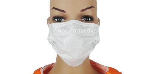 Masque facial avec contour d'oreille -
