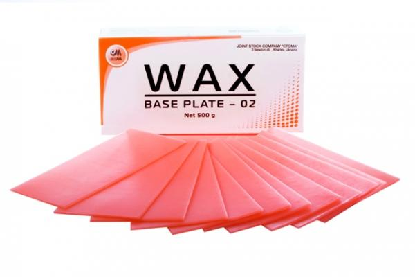 Base wax - 02 - modeling of removable denture bases