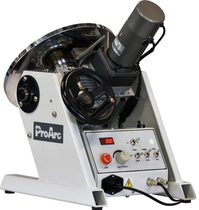 200KG Welding positioner turn table, TIG MIG welding - ProArc PT-203 / 204