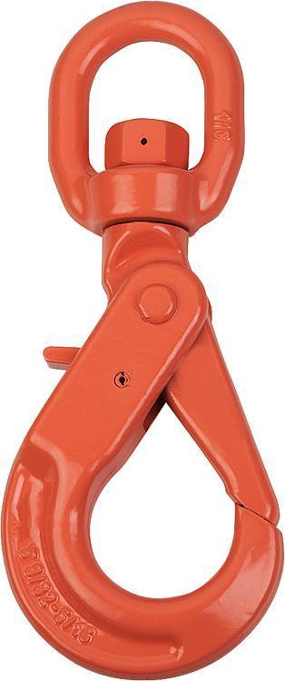 Crochet à émerillon classe 10 - Anneaux de levage fixes et pivotants, anneaux à broche autobloquante