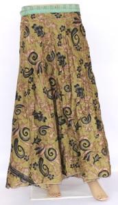 Indian,Halter Sarong,Vintage Silk Sari,Woman wear