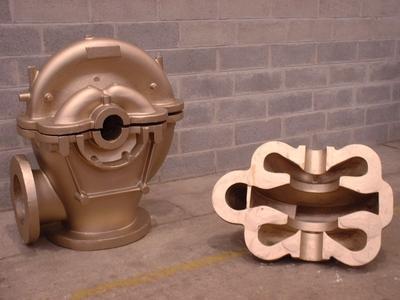 Sandgussteile für Pumpen - Aluminium Bronze Sandgussteile