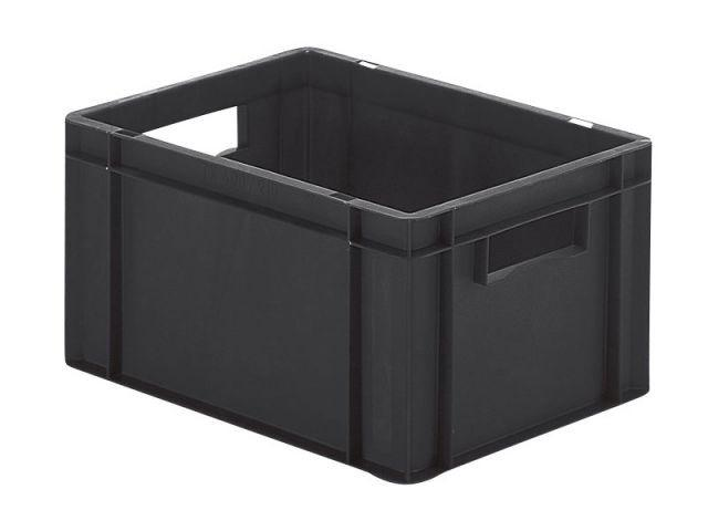 Conductive stacking box: Band 210 1 cond - Conductive stacking box: Band 210 1 cond, 400 x 300 x 210 mm