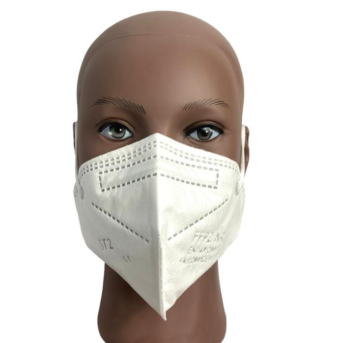 FFP2 NR Protection Mask  - high filtering power at the exit (exhalation) and at the entrance (inhalation)