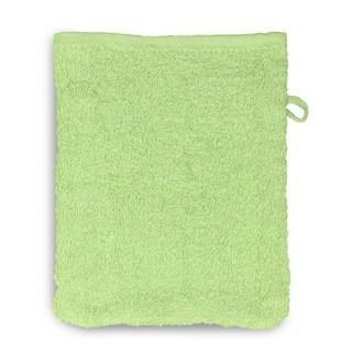 12 Stück Waschhandschuh Set 15x20cm jade - null