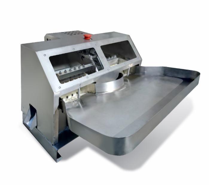KV-250. Cherry stoner (pitter) machine (200-300 kg/h) - automatic cherry destoning machine, seeds remover, cherry decoring machine