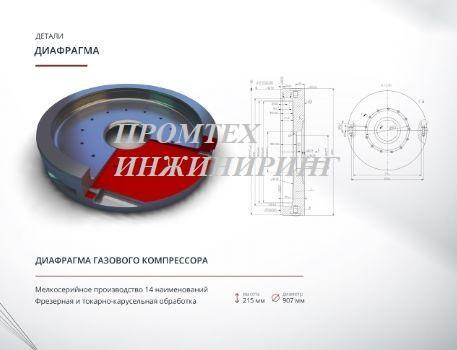диафрогма газового компрессора -